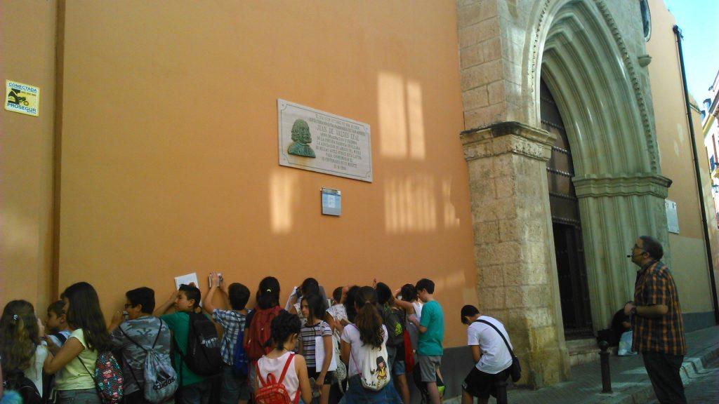 Ruta cultural homenaje a nicol s antonio felipe gonz lez for Biblioteca iglesia madrid