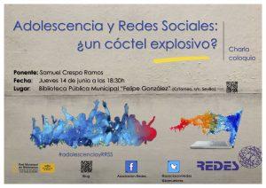 CHARLA-COLOQUIO Adolescencia y Redes Sociales:¿un cóctel explosivo?