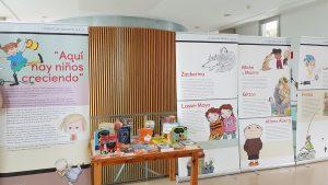 """Exposición de literatura infantil sueca """"Aquí hay niños creciendo"""""""