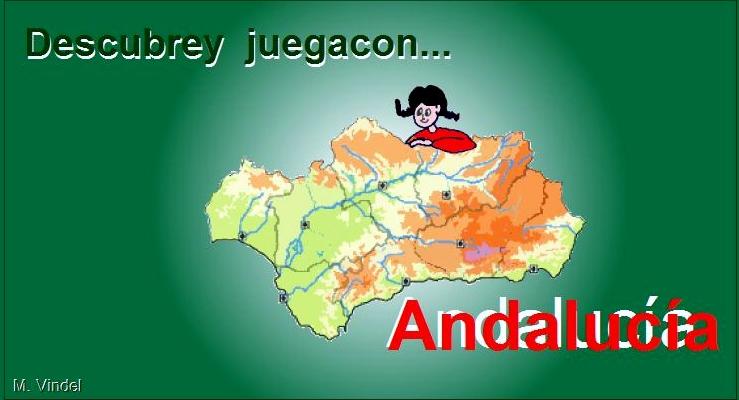 Descubre y juega con Andalucía