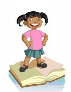 Primeros Lectores en la biblioteca