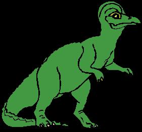 Dinosaurios en la biblioteca
