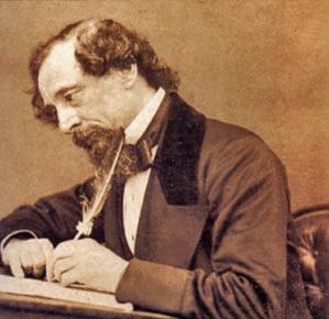 Charles Dickens en la Biblioteca