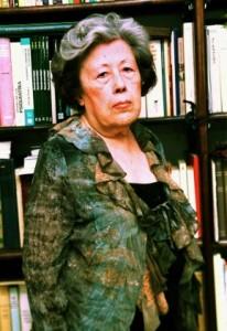 Julia Uceda en la Real Academia Sevillana de Buenas Letras