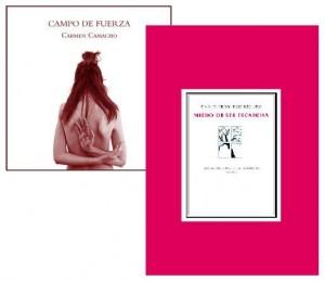 Carmen Camacho y David Eloy Rodríguez en el Club de Lectura