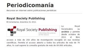 Todo sobre las publicaciones periódicas