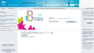 Cambio de dirección del Catálogo de la Red de Bibliotecas Públicas de Andalucía