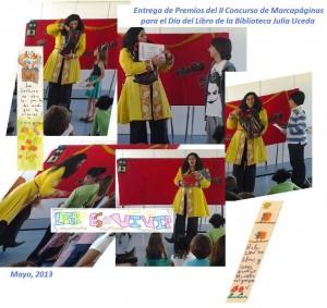Entrega de Premios del II Concurso de Marcapáginas