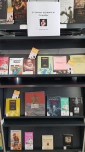 Nuestras obras de Cervantes y sobre Cervantes en la biblioteca