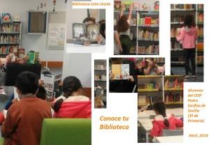 Semana de formación en la biblioteca