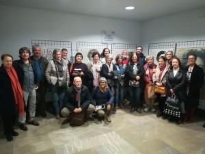 Más de 2.500 personas han visitado la expo de Julia Uceda