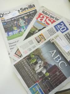 La prensa en la Julia Uceda