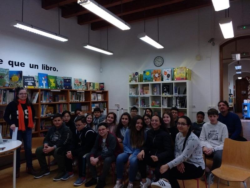 Libros, cine y bibliotecas