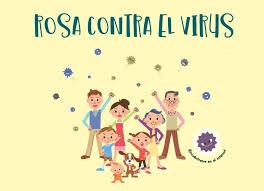 Rosa Contra el Virus. Cuento para explicar a los niños y niñas el Coronavirus