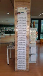 Tercera edición del Lectómetro de la Biblioteca Torreblanca