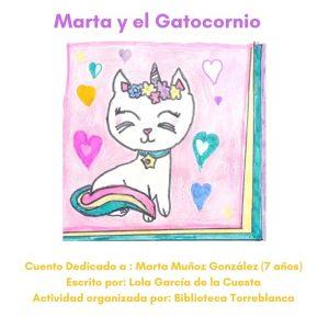 Marta y el Gatocornio (Ilustra y Te Cuento)