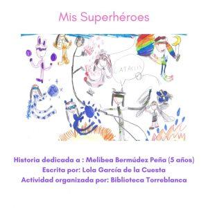 Superhéroes en la Biblioteca Torreblanca (Ilustra y Te Cuento)